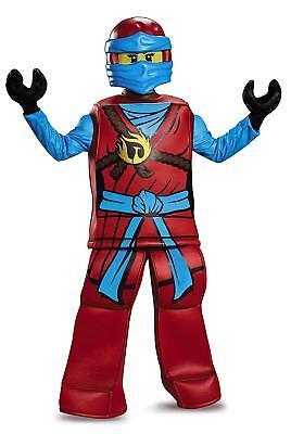 Girls LEGO Ninjago Prestige ''Nya'' Halloween Costume (size S 4-6x) - Red Ninjago Halloween Costume