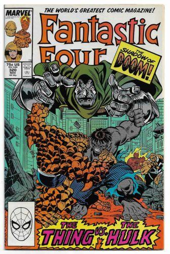 Fantastic Four #320 (Nov 1988, Marvel Comics) Thing Vs Hulk Cover & Story
