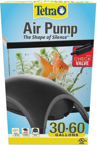 Tetra Whisper Silent Air Pump For 30-60 Gallons Aquarium Fish Tank Filter, USA!!