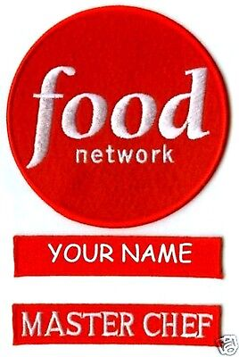 FOOD NETWORK MASTER CHEF HALLOWEEN COSTUME UR NAME - Food Network Halloween Costumes