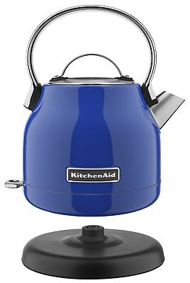KitchenAid Stainless Steel Electric Water Tea Kettle RKEK1222TB Twilight Blue