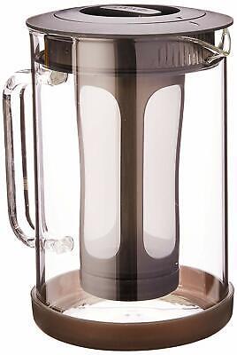 Primula PCBBK-5351 51 oz Black Pace Cold Brew Iced Coffee Ma
