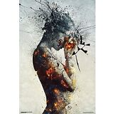 "New - DELIBERATION Modern Art - Poster Print 24"" x 36"" - GREAT FOR FRAMING"