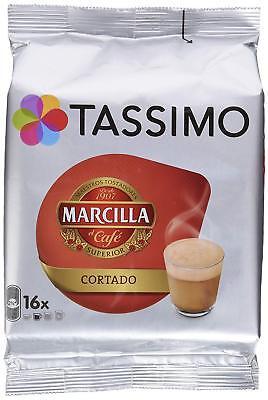 Capsulas Tassimo Marcilla Cafe Cortado 80 Bebidas