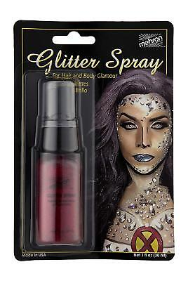Mehron Glitter Spray (Hair & Body )Festival (Body Glitter Spray)