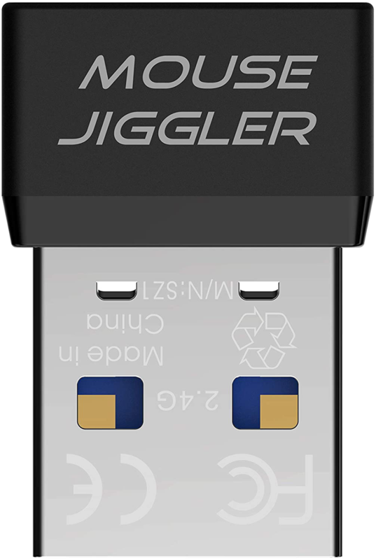 USB Mouse Jiggler Automatic Computer Mouse Mover Jiggler USB Port For Computer L - $19.97