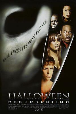 Halloween: Resurrection Original S/S Movie Poster 27 x 40 Jamie Lee Curtis Banks](Movie Halloween Resurrection)