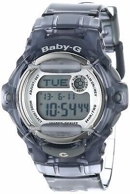 New Casio Baby-G BG169R-8CR Digital Dial Transparent Grey Resin Watch