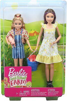 Barbie Sweet Orchard Farm - Skipper and Stacie set of 2 Dolls