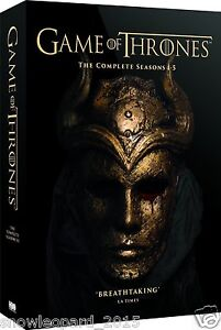 GAME OF THRONES THE COMPLETE COMPLETE SERIES 1 2 3 4 - 5 BOX SET DVD NEW UK R2