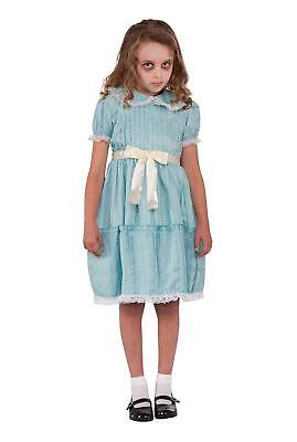 Creepy Sister Little Girl Ghost Zombie Fancy Dress Up Halloween Child Costume