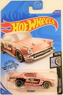 Hot Wheels - 2020 Rod Squad 10/10 '57 Chevy 180/250 (BBGHD26)