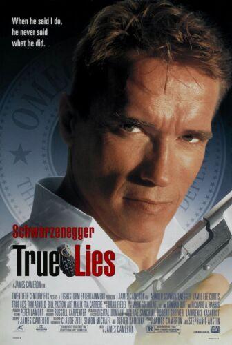 TRUE LIES (1994) ORIGINAL MOVIE POSTER  -  ROLLED