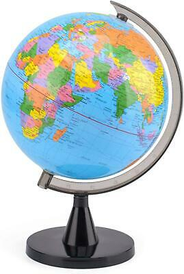 Educational World Globe with Swivel Stand 20cm Geography Learning
