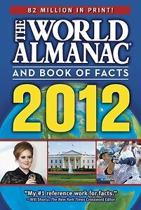 The World Almanac and Book of Facts 2012-ExLibrary