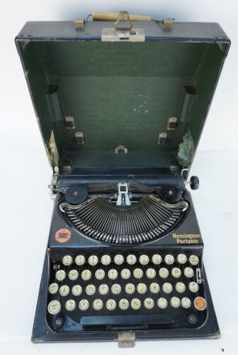 Vintage 1926 Remington Portable Typewriter NC66298