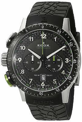NEW Edox Chronorally Men's Chronograph Watch - 10305 3NV NV