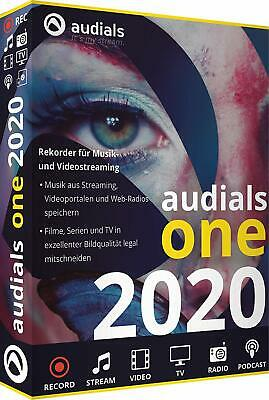 Audials One 2020 Download EAN 4023126121110 Originale Lizenz von Avanquest !