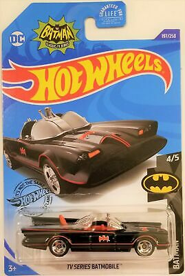 Hot Wheels - 2020 Batman 4/5 TV Series Batmobile 197/250 (BBGHB94)