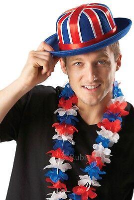 Damen Herren Unisex Britische Union Jack-Flagge Party Lei Girlande Maskenkostüm