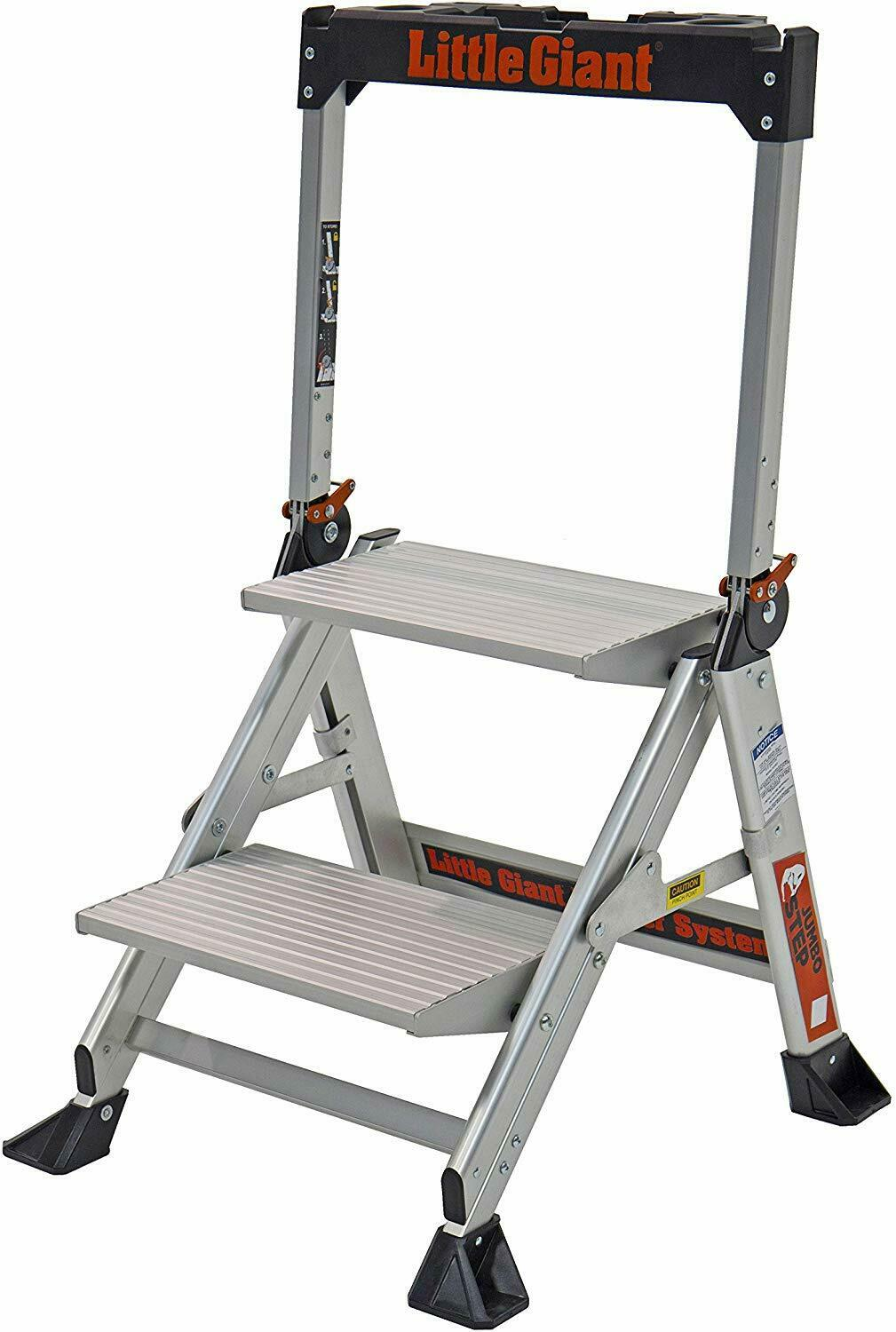 Little Giant Ladder Systems 11902 2-Step Jumbo New Sealed in