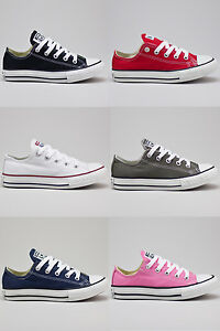 Converse-Kids-Youth-C-T-A-S-OX-Lo-Trainers-new-in-UK-Size-10-11-12-13-1-2