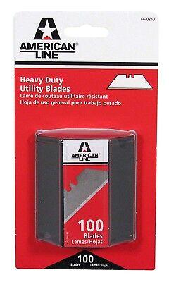 American Safety Razor 66-0240-0000 Heavy-Duty 2-Notch Utility Knife Blades