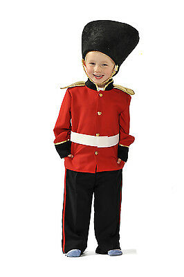 Children's Kids Boys Royal Palace Guard Guardsman Fancy Dress Up Costume Outfit](Palace Guard Costume)