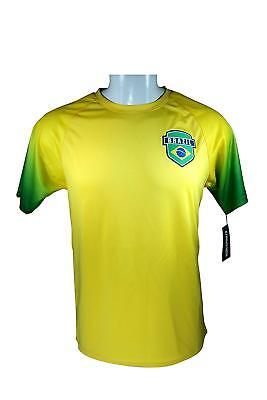 e57b1479f Icon Sports Brazil Adult Soccer Training Poly Jersey -003 Large