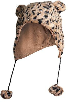 Furry animal ear hats are cute and cosy