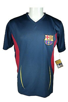 031cb9229c4 FC Barcelona Soccer Official Adult Soccer Training Poly Jersey - L