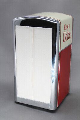 """Coca-Cola """"Have a Coke"""" 50's style Napkin Dispenser Holder"""