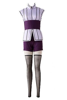 Naruto: Shippuden Movie 7 - The Last Cosplay Costume Hyuga Hinata Outfit Set