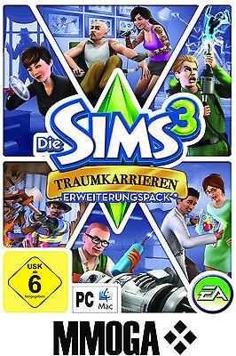 Die Sims 3 - Traumkarrieren / Ambitions EA/ORIGIN Download Code [PC][DE] - Addon (Sims 3 Downloads)