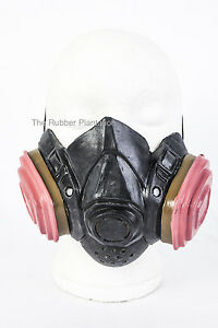 gas mask fancy dress halloween latex costume gasmask chemical cook costume. Black Bedroom Furniture Sets. Home Design Ideas