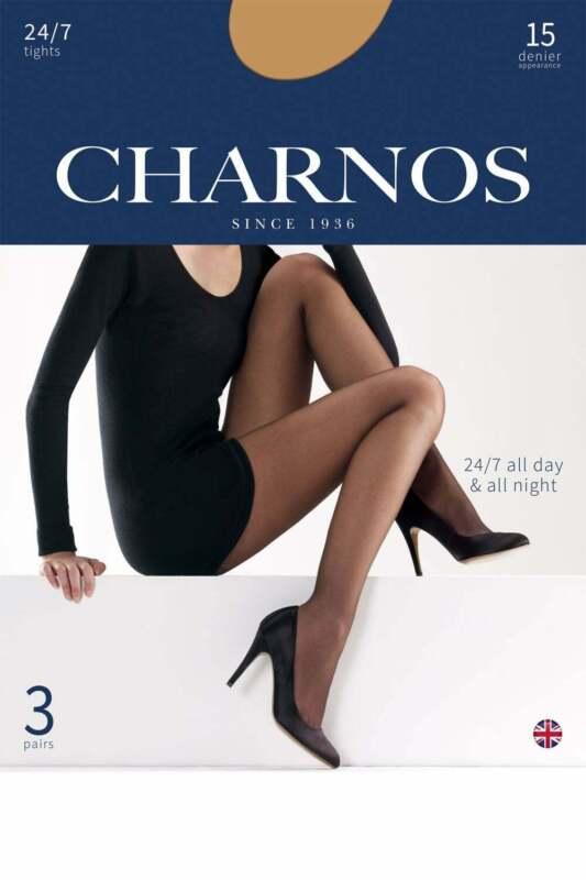 Charnos 24//7 15 Denier Tights 3PP