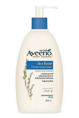 Best Aveeno Skin Relief Moisturising Lotion 354mL Sensitive Dry-Skin Relief