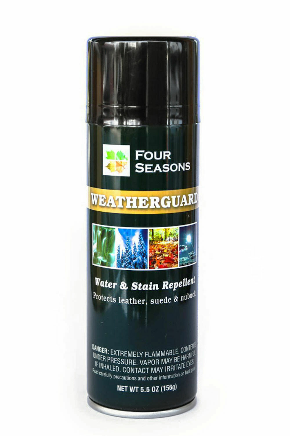 Four Seasons Weatherguard Leather, Suede/Nubuck Water & Stain Repellent 5.5 oz Clothing & Shoe Care