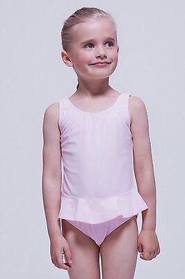 """Kinder Badeanzug """"Arielle"""" mit Röckchen, hellrosa Badekleid Rock Schwimmanzug"""