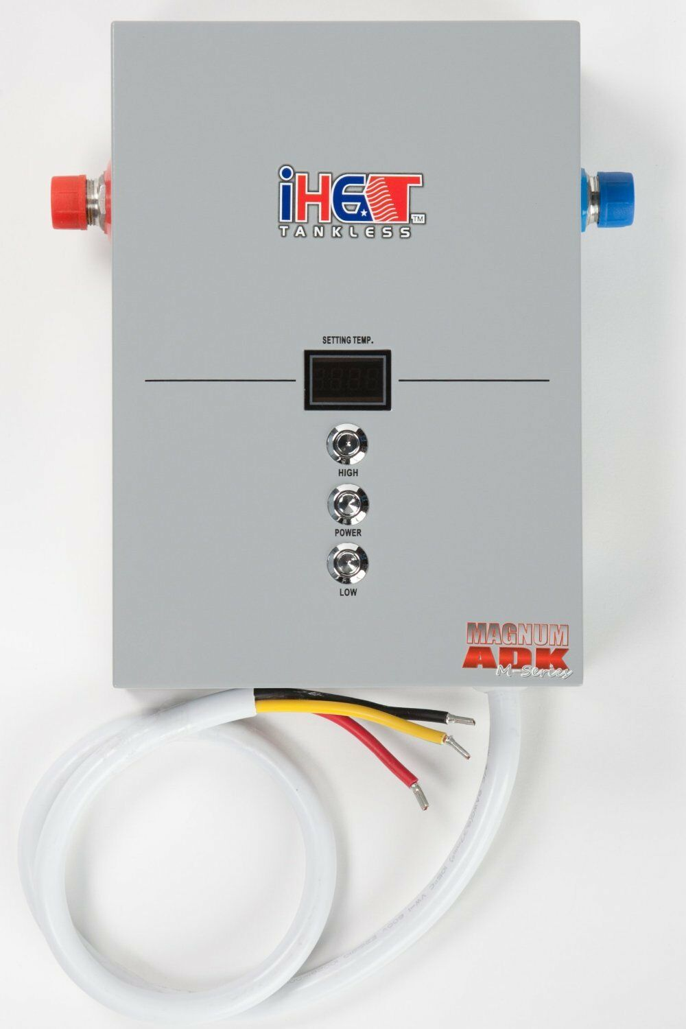 Iheat Electric Tankless Water Heater Model M-16