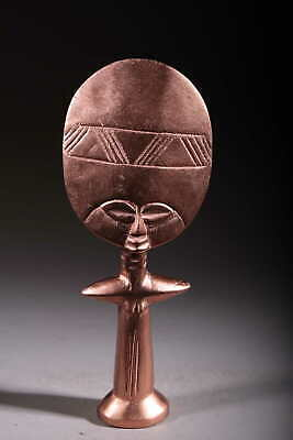 Art Contemporary African Doll Ashanti Copper 123