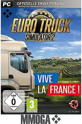 Euro Truck Simulator 2 Vive la France Key - STEAM Code - PC Spiel DLC ETS II EU (Truck Simulator Pc Spiele)