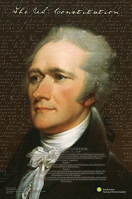 Alexander Hamilton   Smithsonian Poster 24X36   Us Constitution History 241416