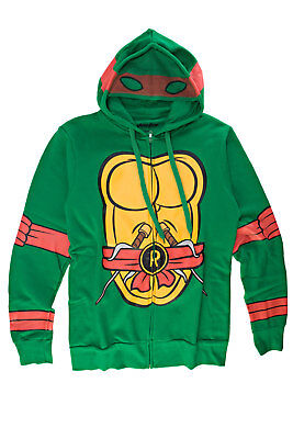 Teenage Mutant Ninja Turtles I Am Raphael Mens Zip-Up Costume Hoodie