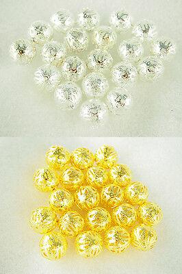 Metallic Gold Silver Fancy Balls Vase Filler Table Scatter Wedding Bridal Shower ()