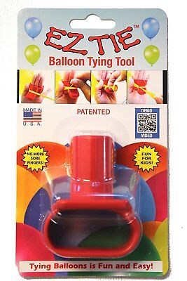 EZ Tie - Balloon Tying Tool for Party Balloons - Party Supplies & Helium Ballons