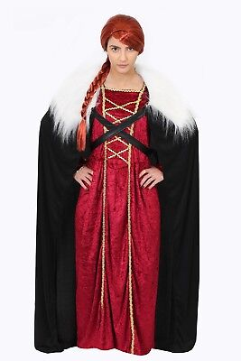 KRIEGER PRINZESSIN WIKINGER GAME OF THRONES KOSTÜM VERKLEIDUNG FASCHING - Game Of Thrones Prinzessin Kostüm
