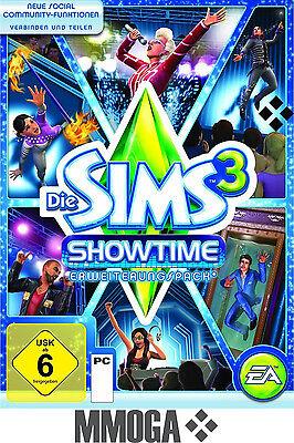 Die Sims 3 - Showtime Addon Key / EA/ORIGIN Download Code [PC][EU][NEU] DLC (Sims 3 Downloads)
