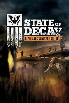 State of Decay Year One Survival Edition  PC KEY region