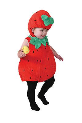 Baby Erdbeere Kostüm Kleinkind Neu Jungen Mädchen Outfit - Baby Erdbeer Outfit
